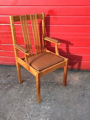 Vintage Mid Century Chair, Hall Way Seat, Retro, Antique, Collectable Piece