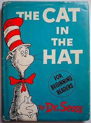 1st ed THE CAT IN THE HAT Dr Seuss dj FIRST EDITION 1st PRINT 200/200 price 1957