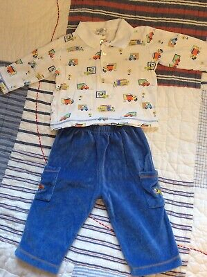 Kissy Kissy Baby Boys 6-9 Months Top And Trousers