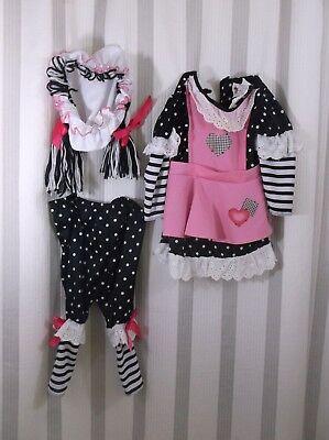 Toddler Girls Rag Doll Costume 12-18 months new (Toddler Rag Doll Costume)