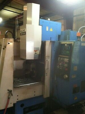 Mazak Vqc-1540 Cnc Vmc 7.5 Hp 6k Rpmcat40 Spindle 35x 16 Table New 1986
