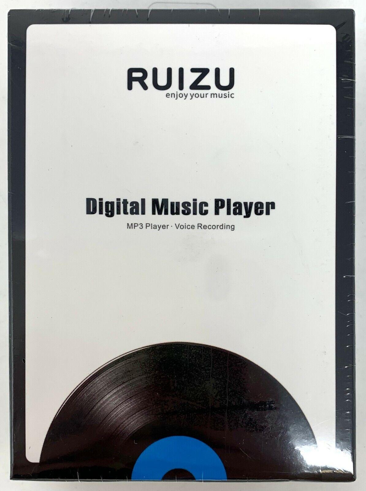Ruizu Digital Music Player  X02 USA SELLER