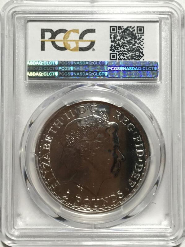 NewYears SPECIAL!! 2014 Britannia S2PND Mule Error Coin NGC Graded MS69PL
