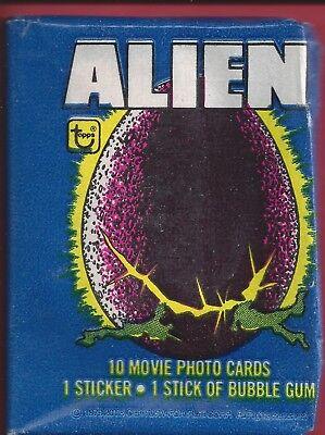 1979 Topps Alien single Wax Pack