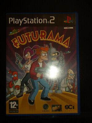 Playstation 2 Futurama Game