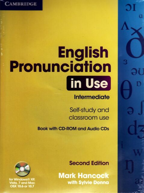 ENGLISH PRONUNCIATION IN USE Intermediate 2nd Ed PACK Book+CD-ROM+Class CDs @NEW
