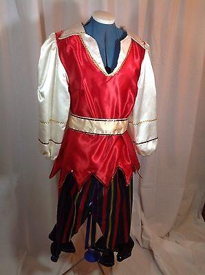 Women's (Size Small) Pirate Mardi Gras Rider's Costume Top and Pants, - Mardi Gras Pants