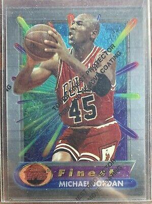 Michael Jordan 1994/95 Finest #331 W/Coating # 45