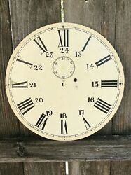 Large 14  24 Hour,  Time Only Wall Clock Dial,