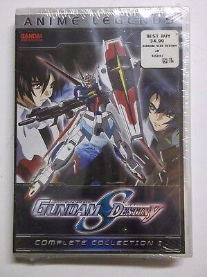 Gundam Seed Destiny - Part 1 (DVD, 2009, 6-Disc Set, Anime Legends Edition) -