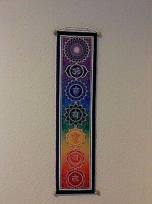 5x60cm Wandbehang Wandbild Regenbogen Banner (Regenbogen-banner)