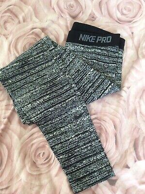 Ladies Nike Pro Dri Fit Leggings Size Large