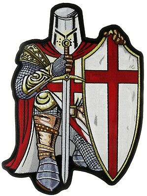 Red Knight Thin Red Line Crusader Fd 12 Inch Large Back Patch Ivan4903 F5a
