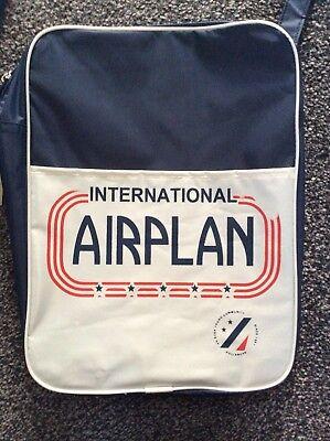 International Airplan Retro Style Flight Bag by Pull & Bear