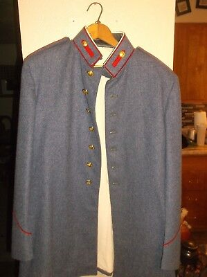 VALLEY FORGE  MILITARY ACADEMY 2 PIECE WOOL UNIFORM SET 42L 35x31