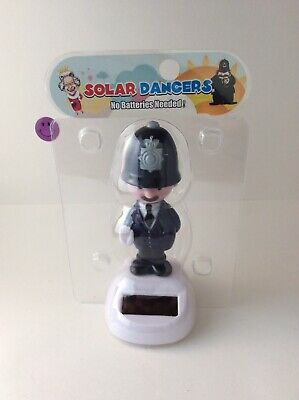 Solar Power Swing (Solar Power Swing Dancing Toy British Policeman For Home Car Decor)