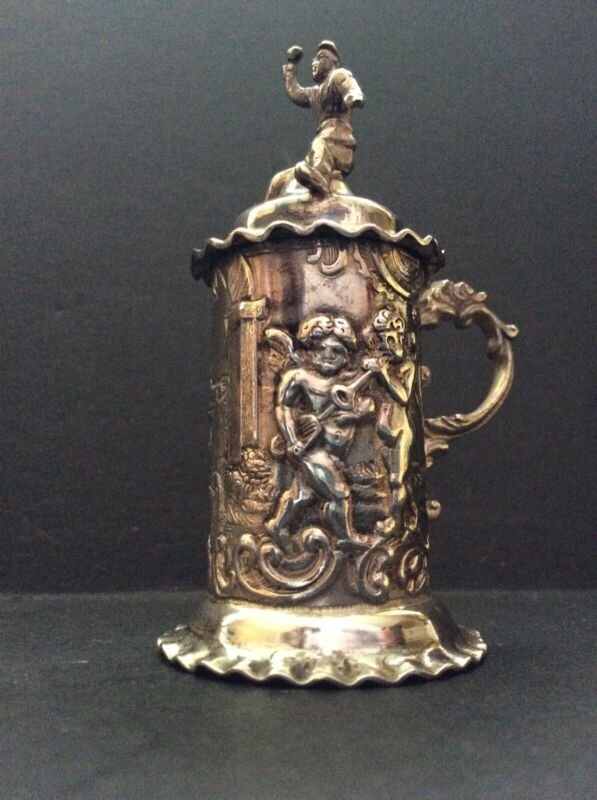 Miniature Dutch Silver Stein