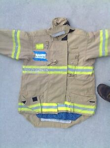 Morning Pride Fire Fighter Turnout jackets Size 40,44,46,  2004-2007