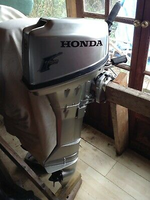 8Hp Honda Outboard , Boat Engine , Long Shaft , 4stroke , Serviced