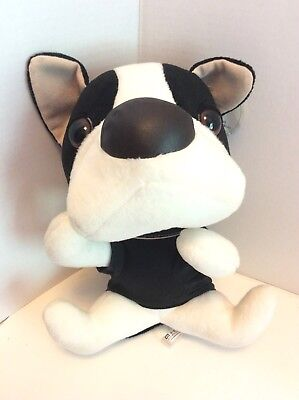 THE DOG Artlist Collection Boston Terrier French Bulldog Stuffed Animal - French Bulldog Stuffed Animal