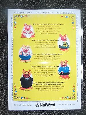 Nat West Pig Poster
