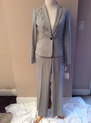 (Calvin Klein Size 2P Single Breasted Pant Suit (NWT) $139)
