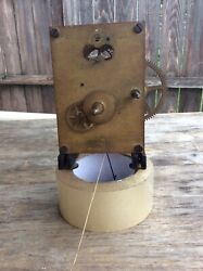 American 8 day Wall Regulator Time Only, Wall Clock Movement, w/ Bracket