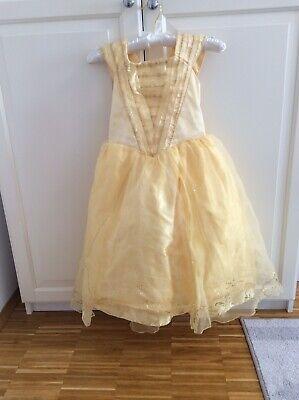 Belle Kostüm Fasching Karneval Original Disney Store Prinzessin Schöne Gr 116 - Belle Disney Prinzessin Kostüm