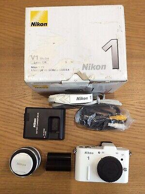 Nikon V1 Camera - White With 10-30mm Lens
