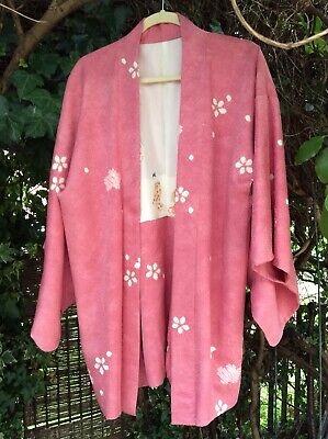 vintage silk kimono jacket