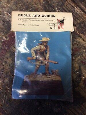 NOS Vintage BUGLE & GUIDON BG 06 4th Gurkha Rifles 1910