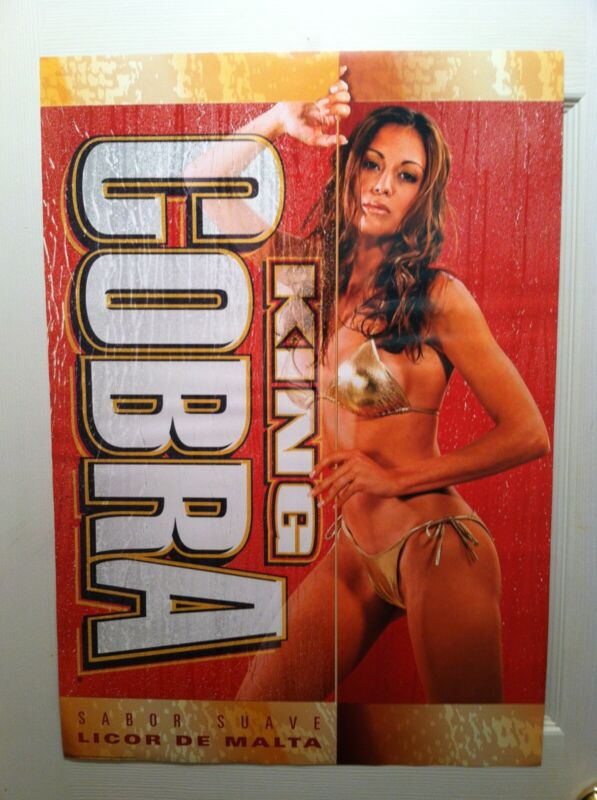 Lot Of 4 Different Sexy Malt Liquor Posters.