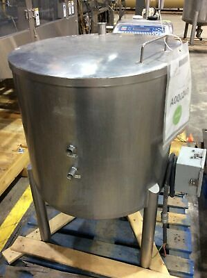 40 Gal Stainless Steel Water Jacketed Tank With Bottom Heat Element