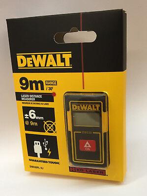 DeWalt DW030PL Laser-Entfernungsmesser 9m extrem handlich/klein