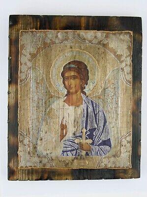 Guarding Angel Christian Russian Old Style Icon Ангел Хранитель Старая Икона
