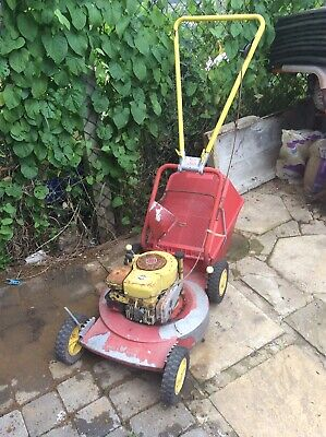 Wolf Tools Briggs & Stratton Vintage Petrol Lawnmower Untested Sold As Seen