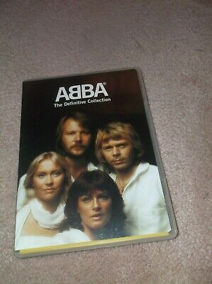 ABBA THE DEFINITIVE COLLECTION DVD RARE OOP w/ insert * Free Shipping *