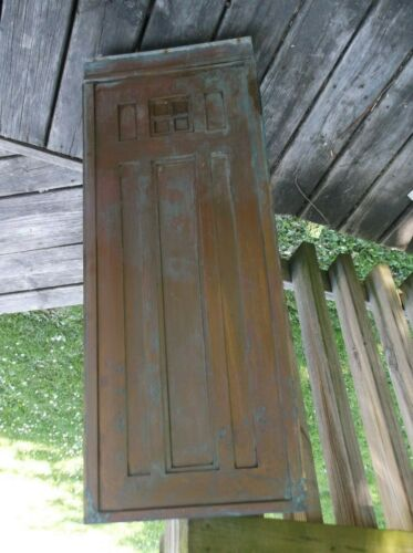 Vintage Brass Postoffice Architectural Victorian Style Old trim telephone booth
