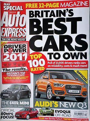 80mpg focus, audi q3, rangerover evoque new bentley turbo r, niss leaf astra GTC