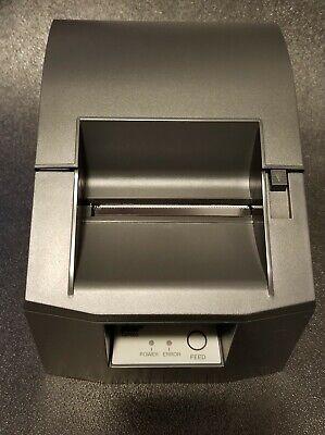 Star Micronics Tsp600 613c Pos Thermal Receipt Printer Gray New