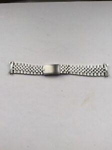 20MM GENUINE ROLEX SS Folded Jubilee Bracelet GMT Explorer 55 End Links