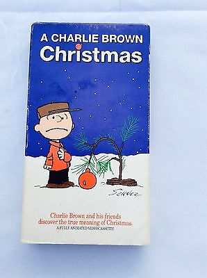 A Charlie Brown Movie Christmas Animated Video Cassette, Vintage VHS Peanuts - Peanuts Christmas Movie