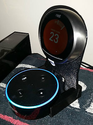 2in1 Nest thermostat & Amazon Echo Dot Stand ☆ Alexa voice control your Nest! ☆