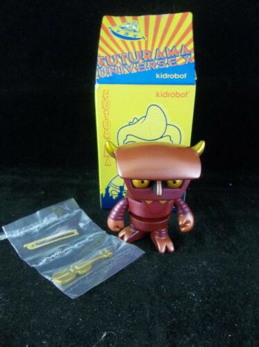 "Kidrobot Futurama Robot Devil Loot Crate Exclusive Blind Box 3"" Vinyl Figure NIB"