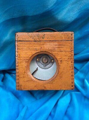 Vintage Pigeon Racing Clock