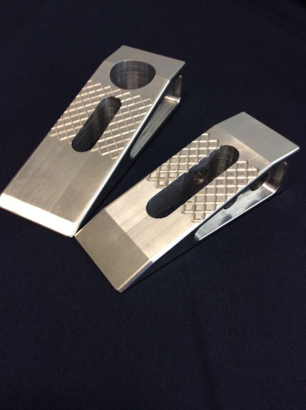 2 Pack ProCap Wedge Magnetic Firefighter Forcible Entry Door Wedge Aluminum