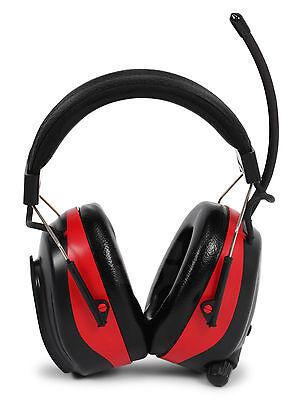 Nordstrand 25dB Kapsel Gehörschutz Ohrenschützer mit Radio SmartPhone Anschluss