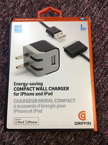 Chargeur mural compact iphone et ipod
