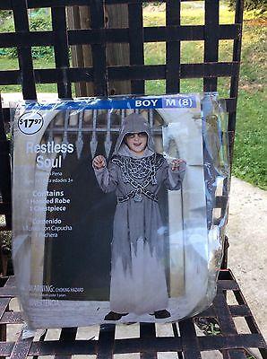 Halloween costume restless soul size med-8 boys