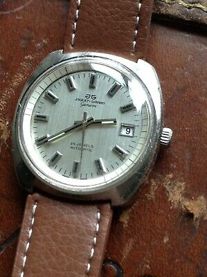 Jaquet Girard Mens Vintage Automatic Watch ETA2783 Movement